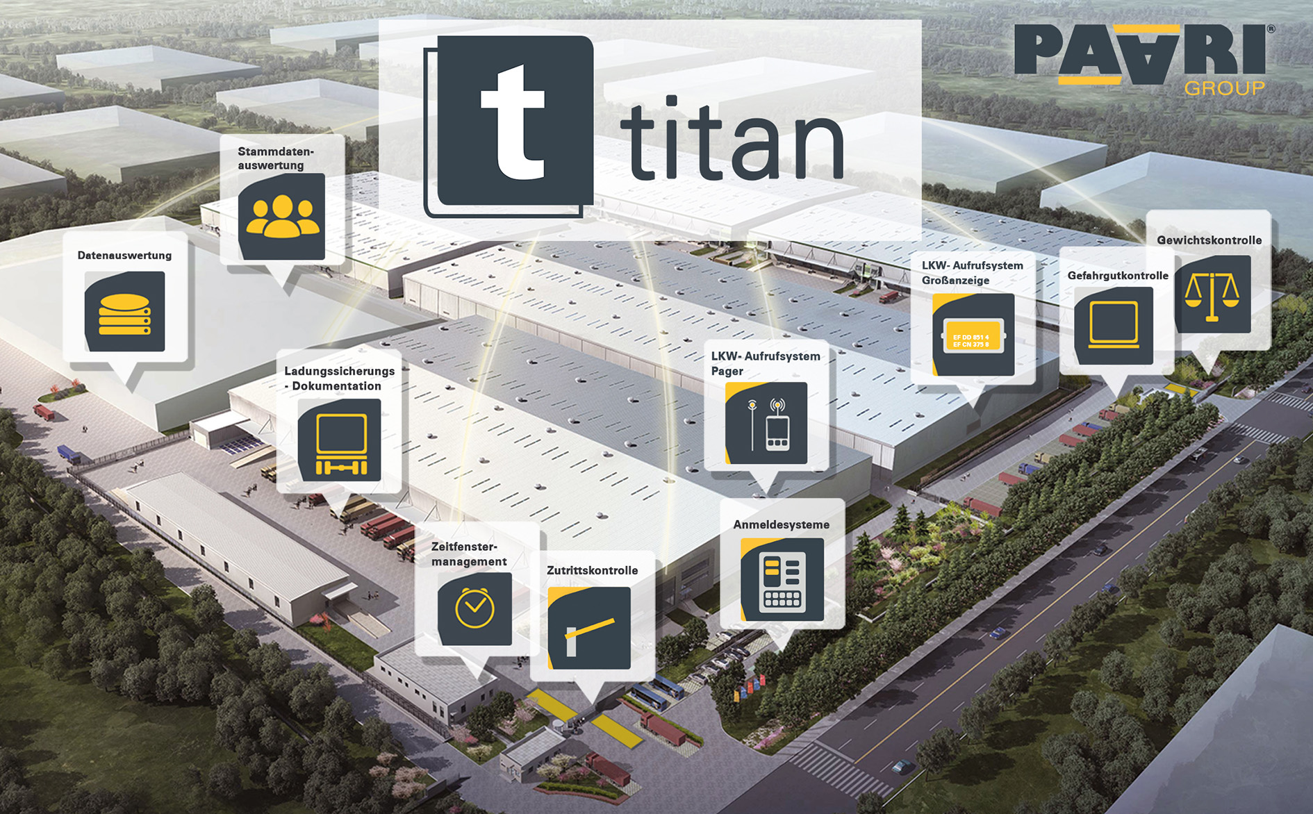 Software logistik titan